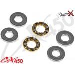 CopterX (CX450-09-08) Thrust Bearings 3x8x3.5mm