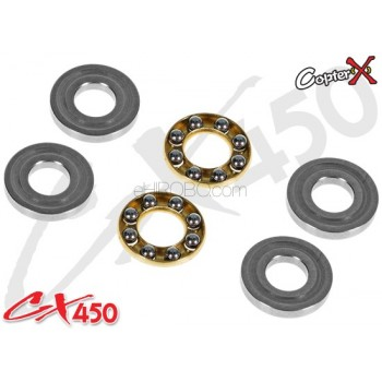 CopterX (CX450-09-08) Thrust Bearings 3x8x3.5mmCopterX CX 450PRO V4 Parts