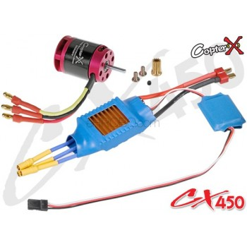 CopterX (CX450-10-06) 430XL Brushless Motor & 50A Brushless ESC with BECCopterX CX 480 Parts