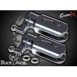 CopterX (CX450BA-01-04) Metal Main Blade Holder with Thrust Bearings