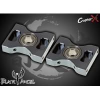 CopterX (CX450BA-03-01) Metal Main Shaft Bearing Block with Bearings