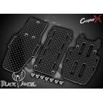 CopterX (CX450BA-03-10) Carbon Fiber Battery Mount & Bottom Plate