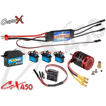 CopterX (CX450EPP-V3) 450 Flybar Electronic Parts Package V3CopterX Electronic Parts