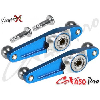 CopterX (CX450PRO-01-05) Metal Flybar Control Arm SetCopterX CX 450PRO Parts