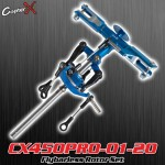 CopterX (CX450PRO-01-20) Flybarless Rotor Set