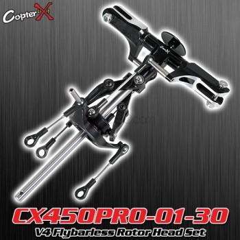 CopterX (CX450PRO-01-30) V4 Flybarless Rotor Head SetFlybarless / Multi-blades