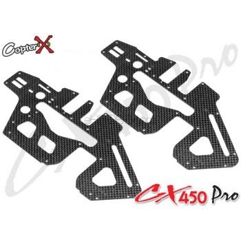 CopterX (CX450PRO-03-03) Carbon Fiber Upper Side FrameCopterX CX 450PRO V4 Parts