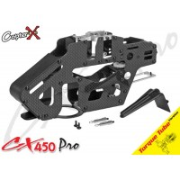 CopterX (CX450PRO-03-15T) Carbon & Metal Main Frame Set