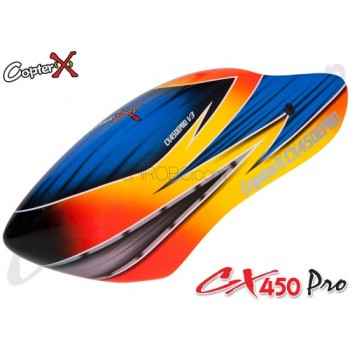 CopterX (CX450PRO-07-09) Fiberglass Canopy V4CopterX CX 450PRO V4 Parts