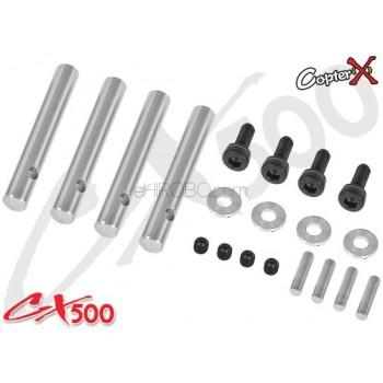 CopterX (CX500-01-51) CX500 4-Blades Feathering ShaftCopterX CX500-01-15 Parts
