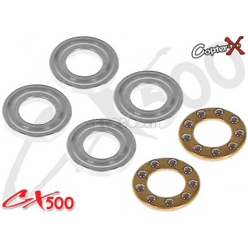 CopterX (CX500-01-68) CX500 4-Blades Trust Bearing 5x10x4CopterX CX500-01-15 Parts