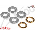 CopterX (CX500-09-01) 5x12x4mm trust Bearings