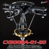 CopterX (CX600BA-01-20) 3D FLOATING Four Blades Main Rotor Set for 600 HeliFlybarless / Multi-blades