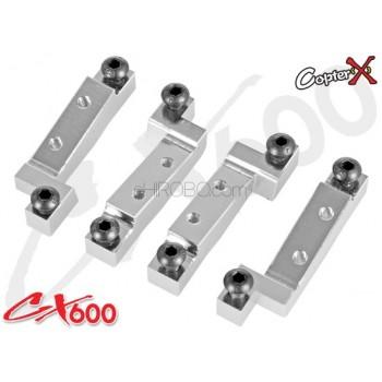 CopterX (CX600BA-03-07) Metal Pitch / Aileron Servo MountCopterX CX 600E PRO Parts