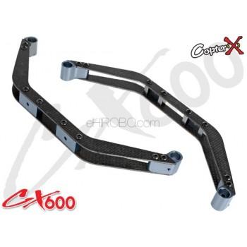 CopterX (CX600BA-04-01) Carbon Fiber Landing SkidCopterX CX 600E PRO Parts