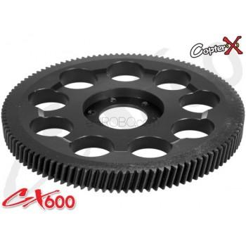 CopterX (CX600BA-05-04) CNC Slant Thread Main Drive GearCopterX CX 600E PRO Parts