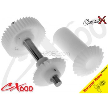 CopterX (CX600BA-05-09) Torque Tube Front Drive Gear Set 40TCopterX CX 600 Parts