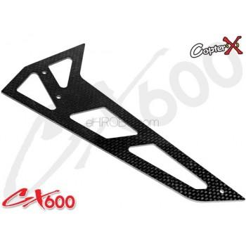 CopterX (CX600BA-06-01) Carbon Vertical StabilizerCopterX CX 600E PRO Parts
