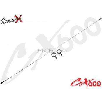 CopterX (CX600BA-07-03) Tail Control Rod AssemblyCopterX CX 600E PRO Parts