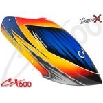 CopterX (CX600BA-07-05) Prepainted Glass Fiber Canopy