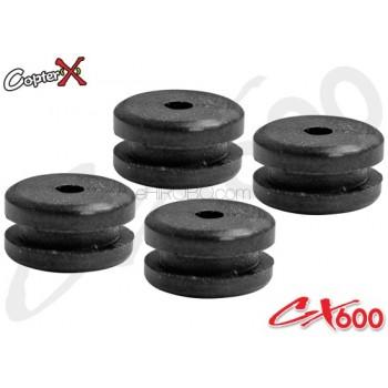 CopterX (CX600BA-07-06) Rubber Mount for CanopyCopterX CX 600E PRO Parts