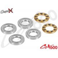CopterX (CX600BA-09-09) 5X10X4mm Thrust Bearings