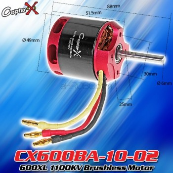 CopterX (CX600BA-10-02) 600XL 1100KV Brushless MotorCopterX Electronic Parts