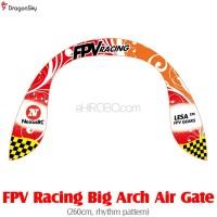 DragonSky (DS-FPV-GATE-ARCH-RHYTHM) FPV Racing Big Arch Air Gate (260cm, rhythm pattern)