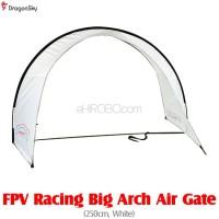 DragonSky (DS-FPV-GATE-ARCH-W) FPV Racing Big Arch Air Gate (250cm, White)
