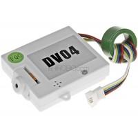 WALKERA (HM-QR-X350-Z-22) DV04 FPV HD Camera for Micro SD Card (White)