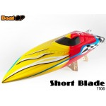 BoatCD (1106) Short Blade Electric Brushless RC Boat ARR