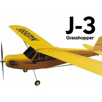 GL (401-2) J3 Grasshopper 1/10 Scale EPO Electric Airplane Kit