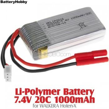 BatteryHobby (BH7.4V20C1000) Li-Polymer Battery 7.4V 20C 1000mAh for Walkera Hoten-XWalkera Hoten-X Parts