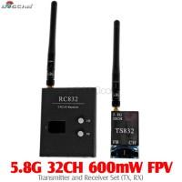 BOSCAM (BOSCAM-5.8G-32CH-TXRX) 5.8G 32CH 600mW FPV Transmitter and Receiver Set (TX, RX)