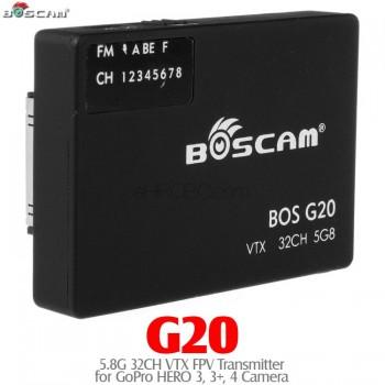 BOSCAM (BOSCAM-G20) G20 5.8G 32CH VTX FPV Transmitter for GoPro HERO 3, 3+, 4 Camera