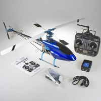 CopterX CX 450AE V2 ARTF without Gyro with CX-CT6C Transmitter and Printed Carton (Mode 2) - 2.4GHz (CS-0291)