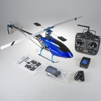 CopterX CX 450AE V2 ARTF with CX-CT6C Transmitter and Aluminum Case (Mode 2) - 2.4GHz (CS-0294)