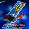 CopterX (CX-1S-520-15C-1) 3.7V 15C 520mAh Li-Polymer Battery for E-flite Blade 120 SR
