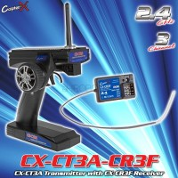 CopterX (CX-CT3A-CR3F) CX-CT3A Transmitter with CX-CR3F Receiver