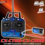 CopterX (CX-CT6B-CX-CR6B) CX-CT6B Transmitter with CX-CR6B receiver