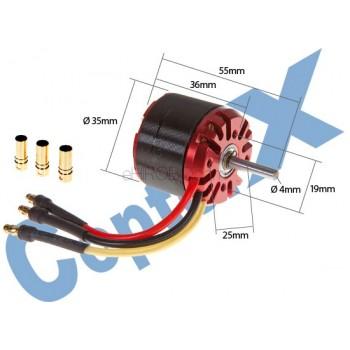 CopterX (CX-M3536-08-KV1050) M3536 1050KV Brushless MotorCopterX Brushless Motor