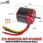 CopterX (CX-M4250-07-KV600) M4250 600KV Brushless Motor