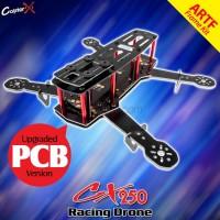CopterX QAV 250 Mini Racing Drone Quadcopter Kit - Glass Fiber Printed Circuit Board Version