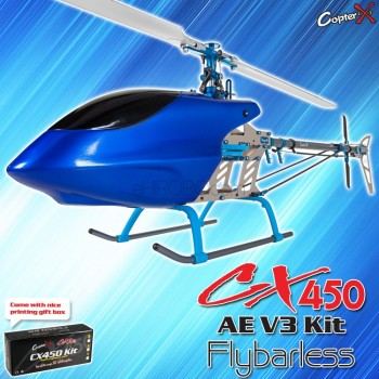 CopterX CX 450AE V3 Flybarless Kit**Crazy Sales