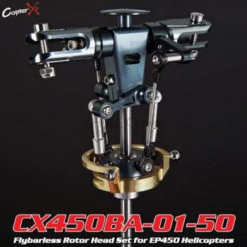 CopterX (CX450BA-01-50) Flybarless Rotor Head Set for EP450 HelicoptersFlybarless / Multi-blades