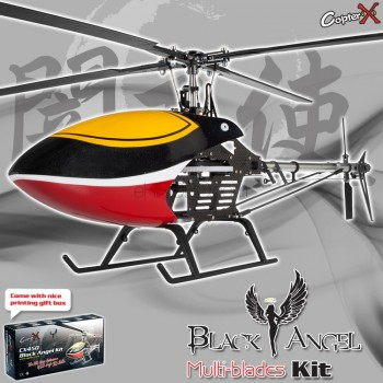 CopterX CX450BAMB4 Black Angel Four-blades Helicopter KitCopterX Helicopters
