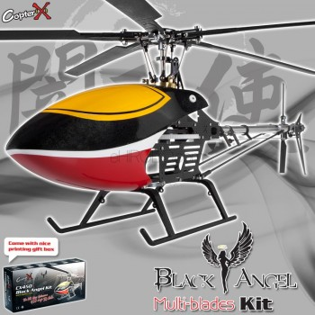 CopterX CX450BAMB5 Black Angel Five-blades Helicopter KitCopterX Helicopters