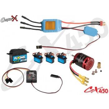 CopterX 450PRO Electronic Parts PackageCopterX CX 450PRO Parts