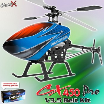CopterX CX 450PRO V3.5 Belt Version KitCopterX Helicopters