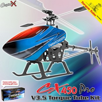 CopterX CX 450PRO V3.5 Torque Tube Version KitCopterX Helicopters